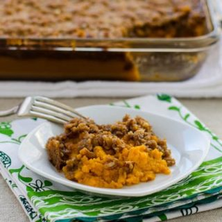 Sweet Potato Casserole for #SundaySupper