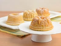 Citrus Cocktail Mini Bundt Cakes