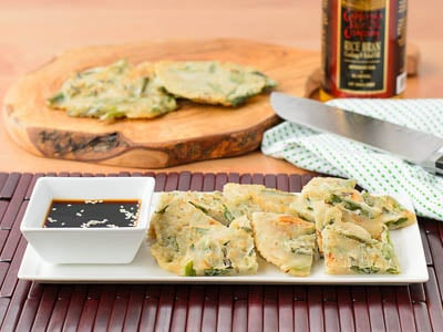 Crab Scallion Pancakes | Magnolia Days