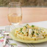 Goat Cheese Rigatoni Alfredo | Magnolia Days