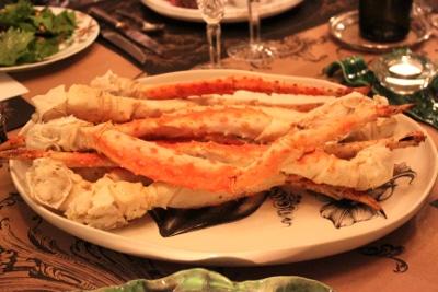 King Crab Legs   Magnolia Days   Photo by Casey Gardner
