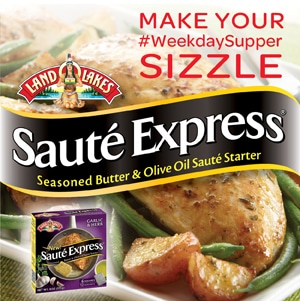 Land O Lake Saute Express Weekday Supper Logo