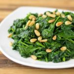 Sauteed Spinach | Magnolia Days