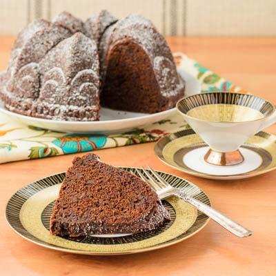 Sour Cream Chocolate Bundt Cake | Magnolia Days