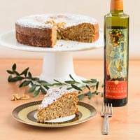Walnut Olive Oil Cake