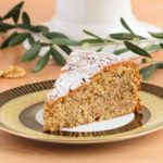 Walnut Olive Oil Cake Slice | Magnolia Days