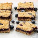 Blueberry Oatmeal Crumb Bars | Magnolia Days