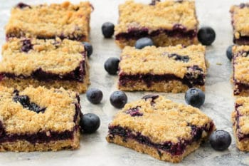 Blueberry Oatmeal Crumb Bars | Magnolia Days