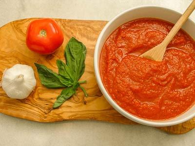 Homemade Tomato Sauce   Magnolia Days