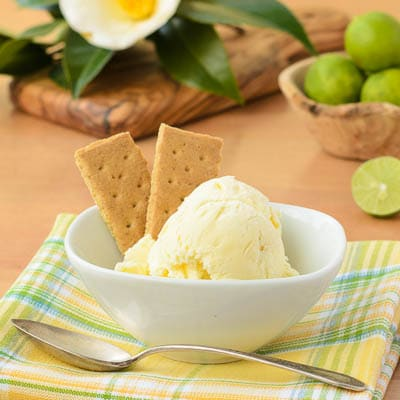 Key Lime Pie Ice Cream | Magnolia Days