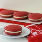 Red Velvet Sandwich Cookies | Magnolia Days