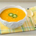 Spicy Sweet Potato Corn Soup | Magnolia Days