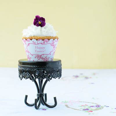 Coconut Cupcakes | Magnolia Days