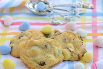 Mini Egg Chocolate Chip Cookies   Magnolia Days