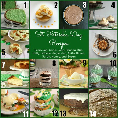 St. Patrick's Day Recipes Group Photo