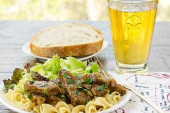 Beef and Onions Braised in Beer | Magnolia Days
