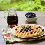 Buttermilk Sourdough Waffles | Magnolia Days