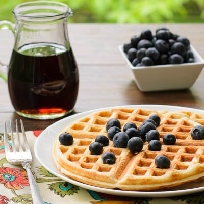 Buttermilk Sourdough Waffles | Magnolia Days