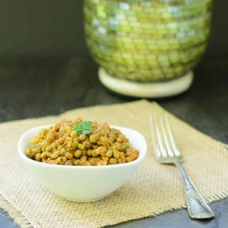 Indian Moong Beans for #SundaySupper