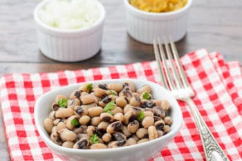 Southern-style Black-eyed Peas | Magnolia Days