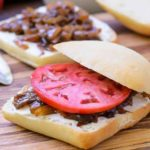 Caramelized Onion, Goat Cheese, and Tomato Sandwich | Magnolia Days