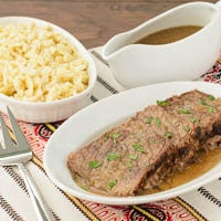 Sauerbraten (German Marinated Beef Roast)