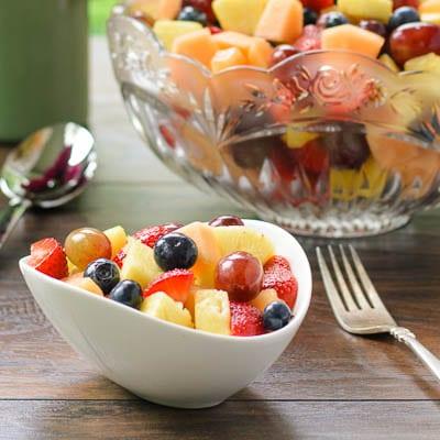 Sparkling Summer Fruit Salad | Magnolia Days