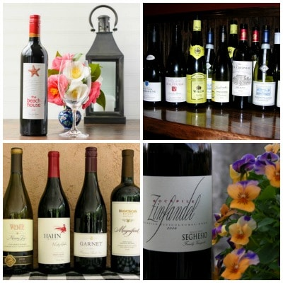 Wine Collage | Magnolia Days