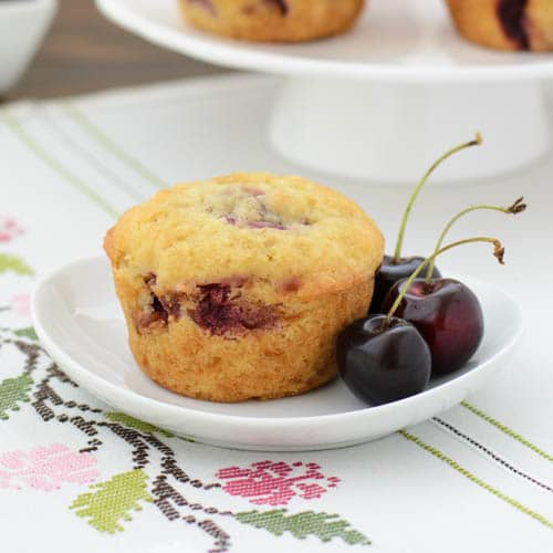 Cherry Muffins | Magnolia Days
