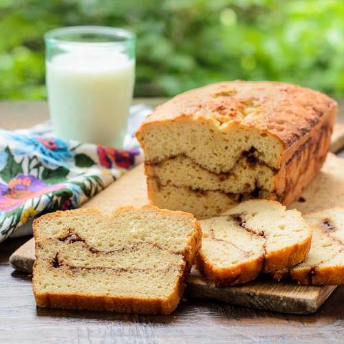 Cinnamon Swirl Quick Bread   Magnolia Days