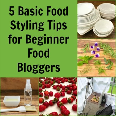 5 Basic Food Styling Tips for Beginner Food Bloggers | Magnolia Days
