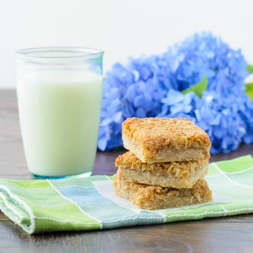 Golden Coconut Bars | Magnolia Days