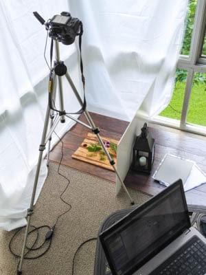 Food Photo Shoot Setup | Magnolia Days