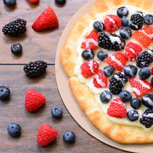 Summer Berry Pizza | Magnolia Days
