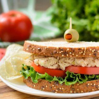 Southern Tuna Salad Sandwich