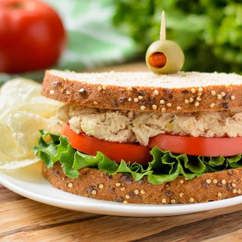 Southern Tuna Salad Sandwich | Magnolia Days