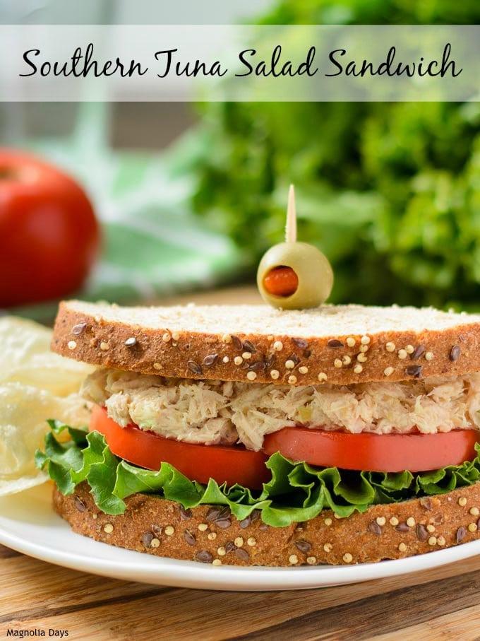 Southern Tuna Salad Sandwich by Magnolia Days