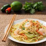Thai Noodle Salad With Shrimp | Magnolia Days