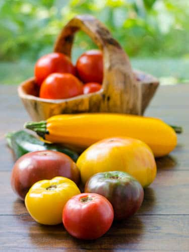 Tomatoes and Zucchini | Magnolia Days