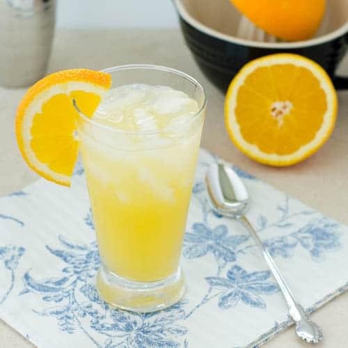 Orange Crush Cocktail for #SundaySupper