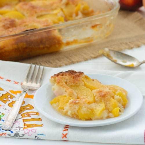 Peach Cobbler | Magnolia Days