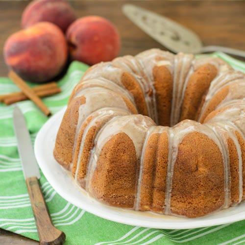 Peach Spice Bundt Cake   Magnolia Days