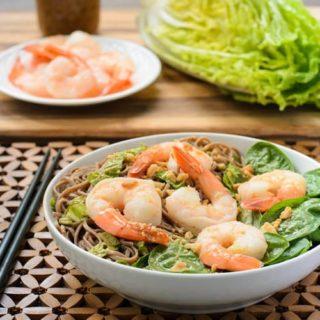 Shrimp Soba Noodle Salad | Magnolia Days