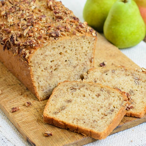 Spiced Pear Pecan Bread | Magnolia Days