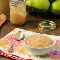 Spiced Pear Sauce