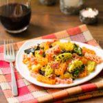 Bacon Spinach Pasta | Magnolia Days