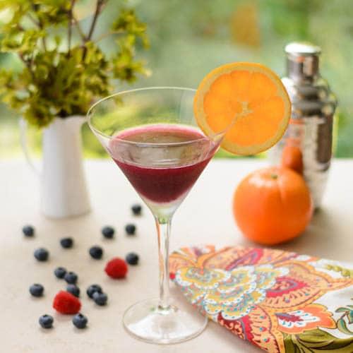Berry Orange Martini
