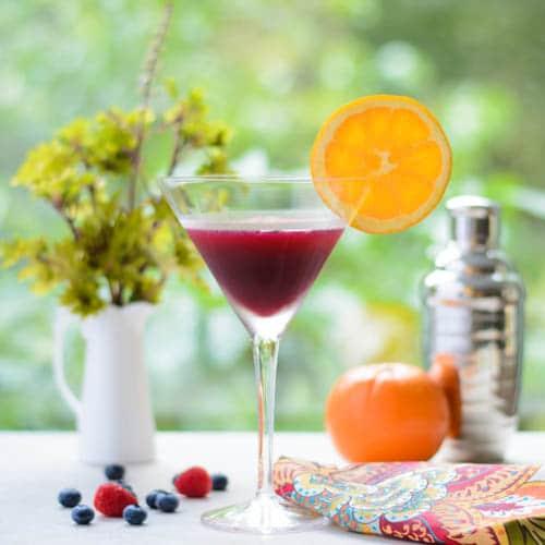 Berry Orange Martini   Magnolia Days