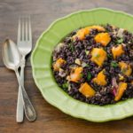 Black Rice with Butternut Squash | Magnolia Days