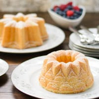 Little Bundt Pound Cakes